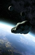 Planetoid Photos - Near-earth Objects, Artwork by Take 27 Ltd