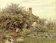 Near Hambledon Print by Helen Allingham