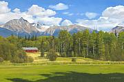 Canada Paintings - Near Kispiox by James Robertson