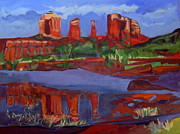 Southwest Images And Landscapes - Near Sedona by Betty Pieper