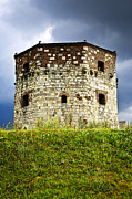Ruins Metal Prints - Nebojsa tower in Belgrade Metal Print by Elena Elisseeva