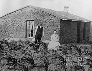 Historical People Posters - Nebraskan Sod House, C. 1880 Poster by Photo Researchers
