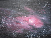 Nebula Painting Originals - Nebula 1 by Siobhan Lawson