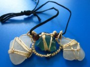 Sea Jewelry - Necklace 3 by Lorna Diwata Fernandez