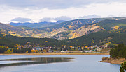 Autumn Photography Prints Posters - Nederland Colorado Scenic Autumn View Boulder County Poster by James Bo Insogna