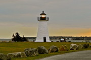 Ned's Point Lighthouse Print by Nick Korstad
