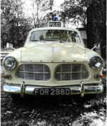 Police Art Prints - Nee Nar Car Print by Ravinder Kalsi