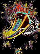 Needle In Fractal 2 Print by Tim Allen