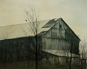 Barn Digital Art Metal Prints - Needs Repair Metal Print by Gothicolors And Crows