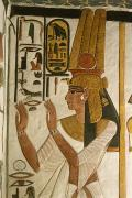Nefertari Tomb Scenes, Valley Print by Kenneth Garrett