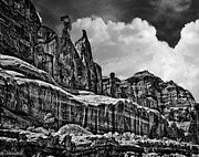 Colorado Digital Art Originals - Nefertiti Arches National Park by Nadine and Bob Johnston