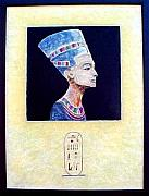 Featured Reliefs - Nefertiti The Beautiful One by Jackie Dunford