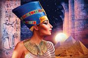 Nefertiti Variant 5 Print by Andrew Farley