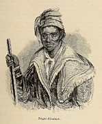 Negro Abraham Was An African Seminole Print by Everett