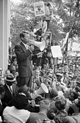 Civil Rights Photos - Negro Demonstration In Washington D.c by Everett