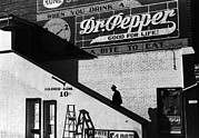 1930s Candid Photos - Negro Going In Colored Entrance by Everett