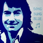 Singer Painting Prints - Neil Diamond Print by John  Nolan