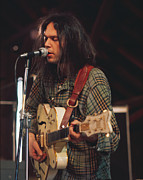 Neil Young Photo Originals - Neil Young by Dennis Jones