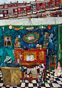   Of Pianos Paintings - Nelsons Eye by Roger Phillpot
