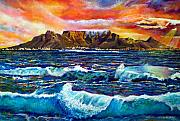 Sunset Seascape Framed Prints - Nelsons View of Freedom Framed Print by Michael Durst