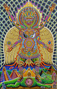 Hippie Painting Originals - Neo Human Evolution by Chris Dyer