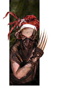 Crazy Metal Prints - Neobedouin - Beast Dancer Metal Print by Mandem