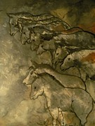 Neolithic Horses Print by John Connaughton