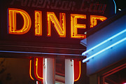 Featured Art - Neon Diner Sign by Fuse