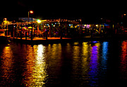 Brenda Gutierrez Moreno - Neon Light Dockside...