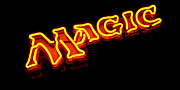Neon Magic Print by Steven Milner