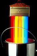 Neon Paintbrush Print by Garry Gay