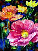 Mary Giacomini - Neon poppies