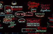 Neon Signs, 1937-1971 Print by Granger