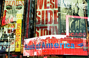 Media Exposure Framed Prints - Neon Stories Of Times Square Framed Print by Travelif