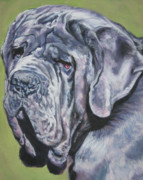 Mastiff Dog Posters - Neopolitan Mastiff Poster by Lee Ann Shepard
