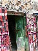 Nepalese Jewelry Shop Print by Dagmar Ceki
