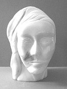 Greek Sculpture Sculptures - Nephele--Greek Goddess by Gary Stull