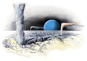 Coldest Prints - Neptune From Triton, Artwork Print by Gary Hincks