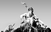 Nymphs Metal Prints - Neptune Metal Print by Marc Huebner