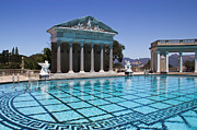 Neptune Prints - Neptune Pool Hearst Castle Print by Heidi Smith