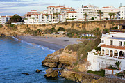 Residential Prints - Nerja Town on Costa del Sol Print by Artur Bogacki