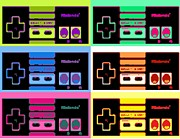 Nes Pop Print by Paul Van Scott
