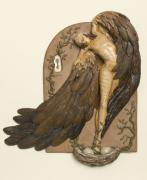 Eagle Reliefs Originals - Nesting by Christine Harris