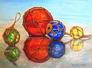 Glass Reflections Originals - Net Minders by Tanja Ware