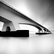 Built Structure Art - Netherlands, Zeeland, Zeelandbridge by Kees Smans