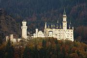 Fantasy Photo Metal Prints - Neuschwanstein Castle Metal Print by Andre Goncalves