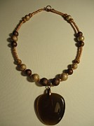 Stone Jewelry Originals - Neutral Heart by Jenna Green