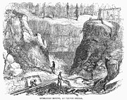 Sluice Prints - Nevada: Gold Mining Print by Granger