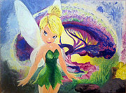 Tink Framed Prints - Never Land Framed Print by Timothy Eakin