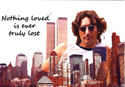 John Lennon  Art - Never lost by Stefan Kuhn